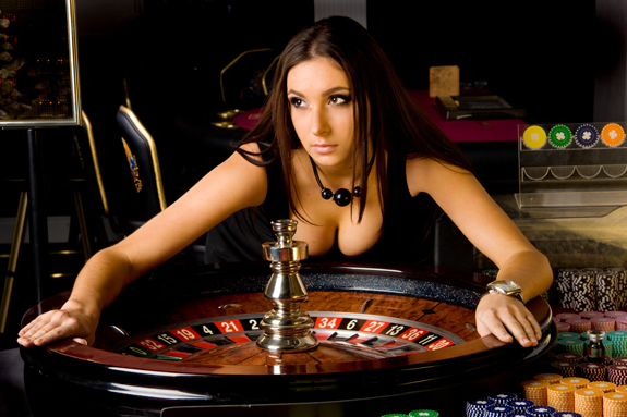 live-roulette-girl